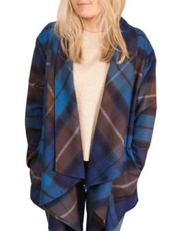 Ladies Kerry Jacket Buchanan Blue
