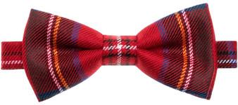 Wool Bow Tie Stewart Royal Modern Tartan