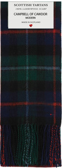 Campbell Of Cawdor Modern Lambswool Scarf
