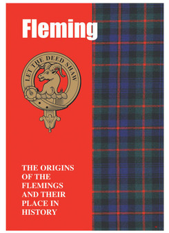 Fleming Ancestry Scottish Clan History Booklet, Scottish Gift