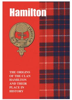 Hamilton Ancestry Scottish Clan History Booklet, Scottish Gift