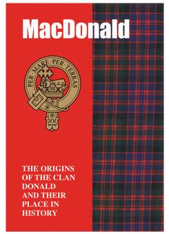 MacDonald Ancestry Scottish Clan History Booklet, Scottish Gift