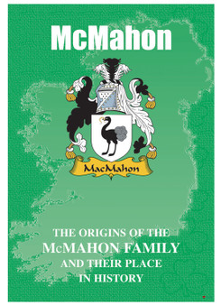 McMahon Irish Ancestry Clan History Booklet Covering the Historical Exploits of this Famous Name