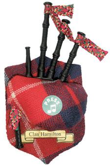 "Hamilton Musical Bagpipe Fridge Magnet Sound ""Scotland the Brave"""