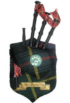 "Farquharson Musical Bagpipe Fridge Magnet Sound ""Scotland the Brave"""