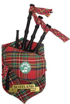 "Scotland Musical Bagpipe Fridge Magnet Sound ""Scotland the Brave"""
