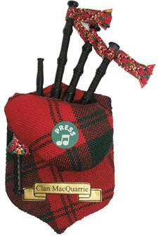 "MacQuarrie Musical Bagpipe Fridge Magnet Sound ""Scotland the Brave"""