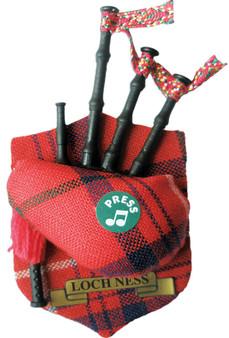 "Loch Ness Musical Bagpipe Fridge Magnet Sound ""Scotland the Brave"""