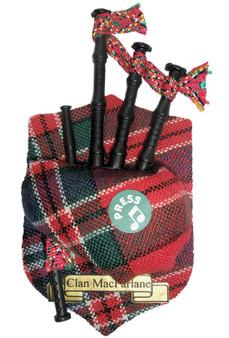 "MacFarlane Musical Bagpipe Fridge Magnet Sound ""Scotland the Brave"""