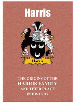 Harris Welsh Ancestry Family History Booklet