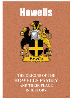 Howells Welsh Ancestry Family History Booklet