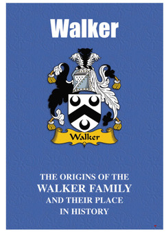 Walker English Ancestry Family History Booklet with Amazing Facts of this Famous Name