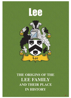 Lee English Ancestry Family History Booklet with Amazing Facts of this Famous Name
