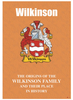 Wilkinson English Ancestry Family History Booklet with Amazing Facts of this Famous Name