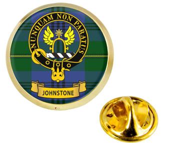 Scottish Clan Lapel Badge Pin Johnstone Clan Crest Product Of Scotland Gold Colour