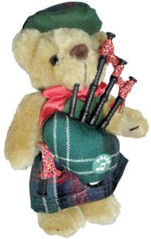 Sutherland Clan Musical Teddy Bear, Scottish Gift, Made in Scotland