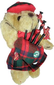 MacIntosh Clan Musical Teddy Bear, Scottish Gift, Made in Scotland