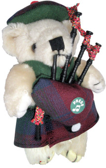 Lindsay Clan Musical Teddy Bear, Scottish Gift, Made in Scotland