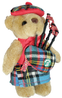 Anderson Clan Musical Teddy Bear, Scottish Gift, Made in Scotland