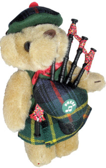Farquharson Clan Musical Teddy Bear, Scottish Gift, Made in Scotland