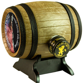 Miniature Malt Whisky Barrel Edinburgh Castle Scottish Gift