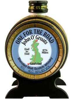 Miniature Malt Whisky Barrel John O' Groats