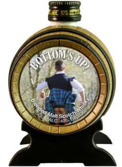 Miniature Malt Whisky Barrel Mr Kiltie Scottish Gift