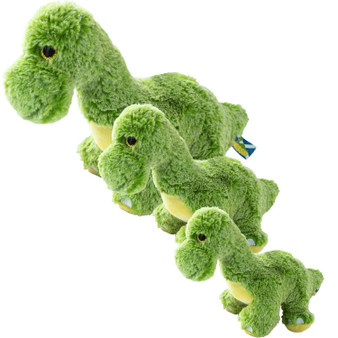 Green Nessie Loch Ness Monster Plush Soft Toy Childs Gift