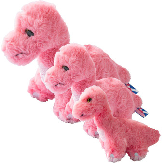 Pink Nessie Loch Ness Monster Plush Soft Toy Childs Gift