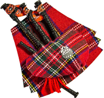 Scotland The Brave Bagpipe Musical Magnet