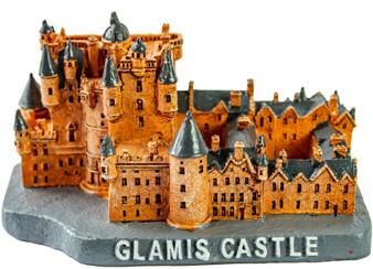 Glamis Castle Resin Model