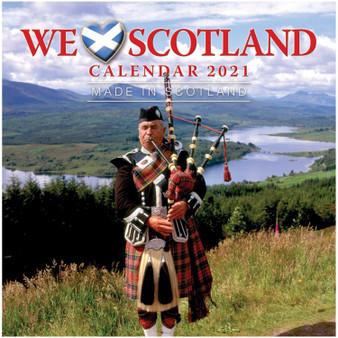 2021 Scotland Scenery Calendar Small Compact