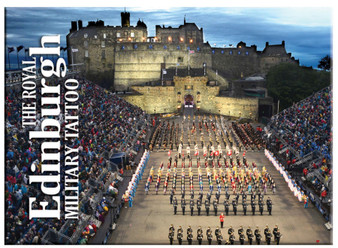 The Royal Edinburgh Military Tattoo Scenic Metallic Magnet