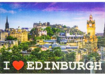 Edinburgh Castle Night and Day Fridge Magnet 3D Fridge Magnet Hologram Lenticular Effect