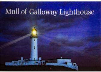 Scotland Mull Of Galloway Lighthouse Moving Fridge Magnet 3D Hologram Lenticular Effect