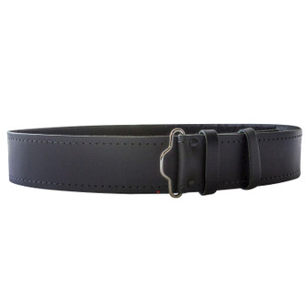 "Plain Hide Leather Velcro Kilt Belt 2.25"" Wide Scottish Made"