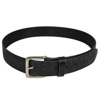 """Celtic Thistle Trouser Belt 1.5"""""""