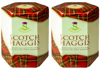 Scottish Scotch Haggis Tin Pack of 2 Tins Made in Scotland