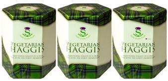 Vegetarian Haggis Tin with Skin Pack of 3 Traditional Scottish Food