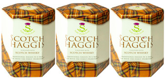 Scotch Haggis Scotch Whisky Flavour Pack of 3 Traditional Scottish Food