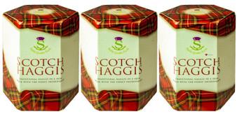 Scotch Haggis Tin Traditional Scottish Food Pack of 3