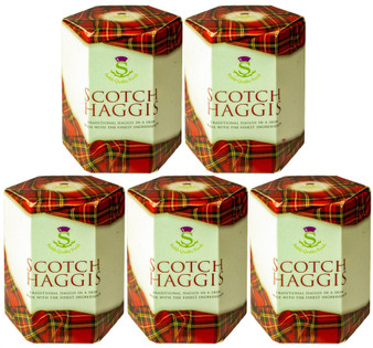 Scotch Haggis Tin Ideal Gift Pack of 5 Traditional Scottish Food