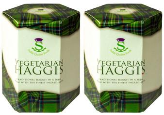 Scottish Vegetarian Haggis Tin Pack of 2 Made in Scotland
