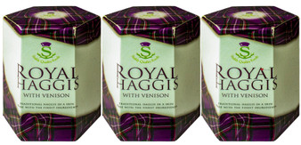 Royal Haggis With Venison Tin Pack of 3 Traditional Scottish Food