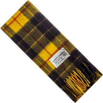 Luxury 100% Cashmere Scottish Clan Scarf MacLeod Dress Modern