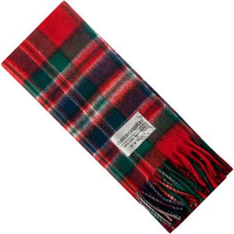 Luxury 100% Cashmere Scottish Clan Scarf MacFarlane Clan Modern