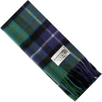 Luxury 100% Cashmere Scottish Clan Scarf Freedom