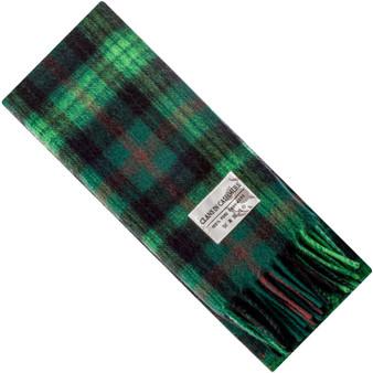 Luxury 100% Cashmere Scottish Clan Scarf Ross Hunting Modern