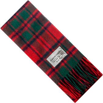 Luxury 100% Cashmere Scottish Clan Scarf MacIntosh Clan Modern