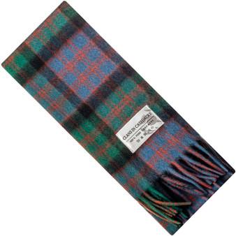 Luxury 100% Cashmere Scottish Clan Scarf MacDonald Clan Ancient